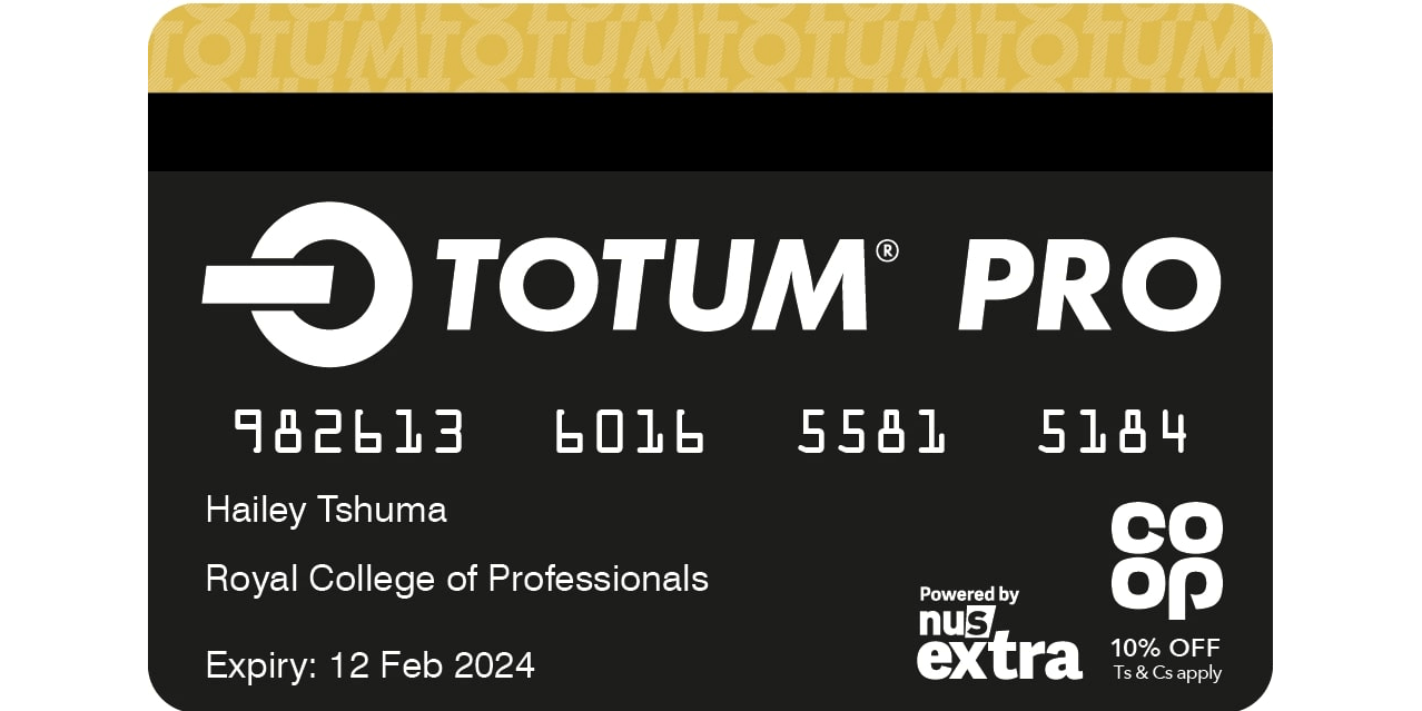TOTUM-Pro Card