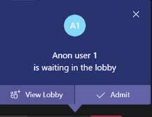 Teams Lobby