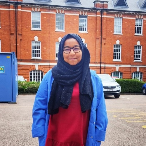 Iffat from our Welcome Team