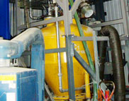 A pneumatic conveying rig