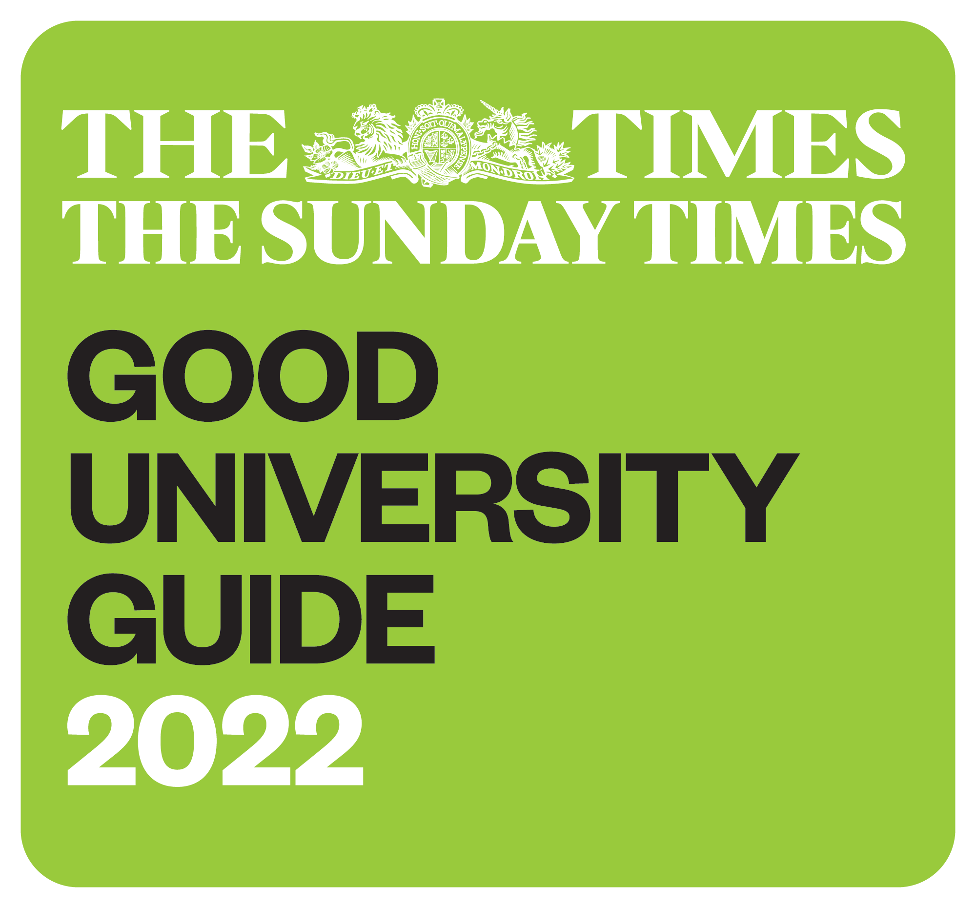 The Times Good University Guide 2022